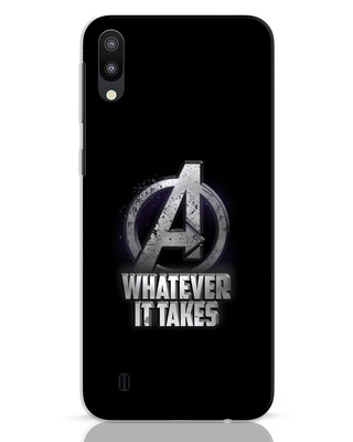 Shop Whatever It Takes Samsung Galaxy M10 Mobile Cover-Front