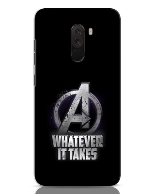 Shop Whatever It Takes Xiaomi POCO F1 Mobile Cover-Front