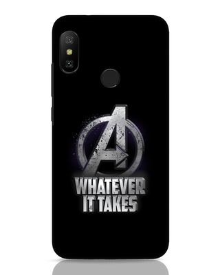 Shop Whatever It Takes Xiaomi Redmi Note 6 Pro Mobile Cover-Front
