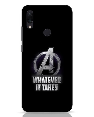 Shop Whatever It Takes Xiaomi Redmi Note 7 Mobile Cover-Front