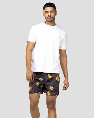 Shop Whats Down Orange Mango Boxer-Front