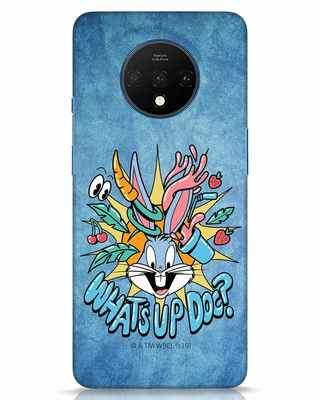 Shop Whats Up Doc OnePlus 7T Mobile Cover (LTL)-Front