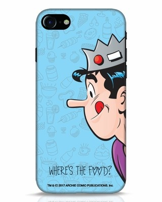 Shop Where's The Food iPhone 7 Mobile Cover-Front