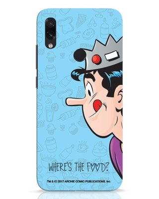 Shop Where's The Food Xiaomi Redmi Note 7 Pro Mobile Cover-Front