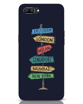 Shop Which Way To Go Realme C1 Mobile Cover-Front
