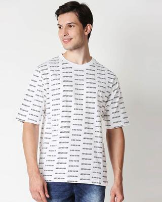 Shop White Self Love Half Sleeve T-Shirt-Front