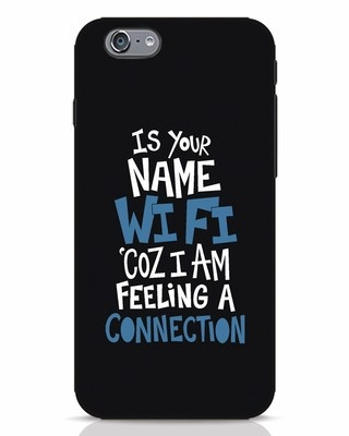 Shop Wi Fi iPhone 6 Mobile Cover-Front