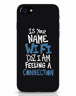 Shop Wi Fi iPhone 7 Mobile Cover-Front