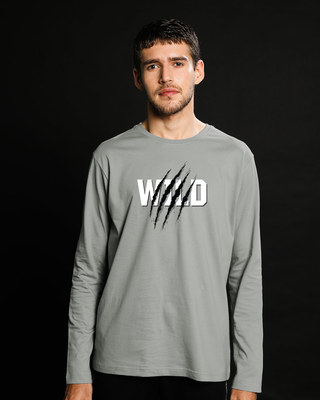 Shop Wild Claw Full Sleeve T-Shirt-Front