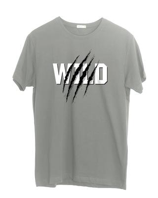 Shop Wild Claw Half Sleeve T-Shirt-Front