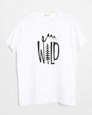 Buy Wild Forest Half Sleeve T-Shirt Online India @ Bewakoof.com