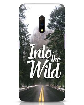 Shop Wild Road Realme X Mobile Cover-Front