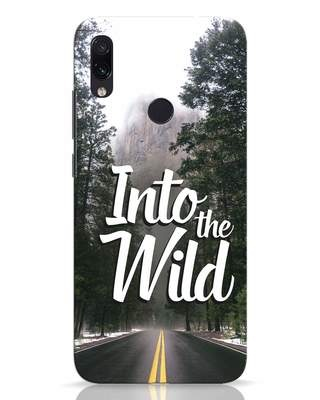 Shop Wild Road Xiaomi Redmi Note 7 Pro Mobile Cover-Front
