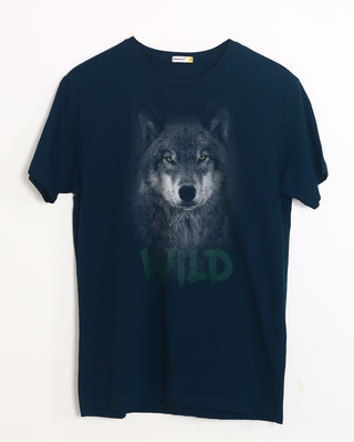 Buy Wild Wolf Half Sleeve T-Shirt Online India @ Bewakoof.com