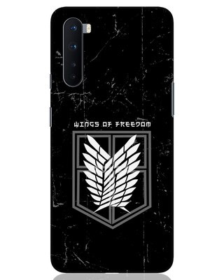 Shop Wings Of Freedom OnePlus Nord Mobile Cover-Front