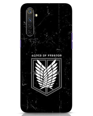 Shop Wings Of Freedom Realme 6 Pro Mobile Cover-Front