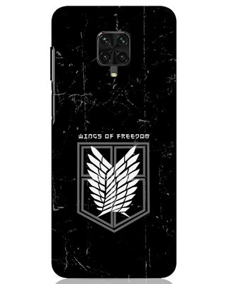 Shop Wings Of Freedom Xiaomi Poco M2 pro Mobile Cover-Front