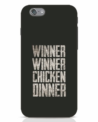 Shop Winner Winner iPhone 6s Mobile Cover-Front