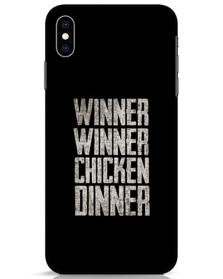 Shop Winner Winner iPhone XS Max Mobile Cover-Front