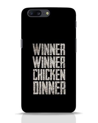 Shop Winner Winner OnePlus 5 Mobile Cover-Front