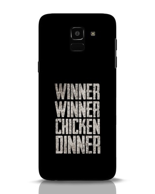 Shop Winner Winner Samsung Galaxy J6 Mobile Cover-Front