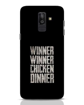 Shop Winner Winner Samsung Galaxy J8 Mobile Cover-Front