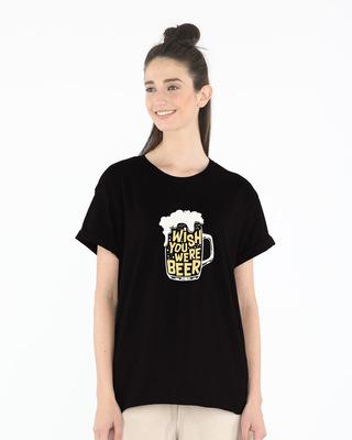 Wish You Were Beer Boyfriend T-Shirt