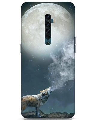 Shop Wolf Moon Oppo Reno 2 Mobile Cover-Front