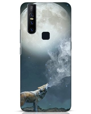 Shop Wolf Moon Vivo V15 Mobile Cover-Front