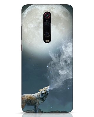 Shop Wolf Moon Xiaomi Redmi K20 Mobile Cover-Front