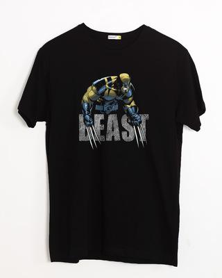 Shop Wolvereine Beast Half Sleeve T-Shirt (WL)-Front