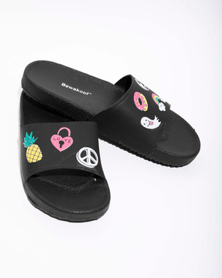 Shop Women Patches Sliders-Front
