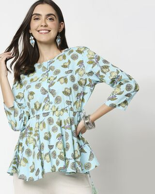 Shop Women's Ethnic Printed  Tunic-Front