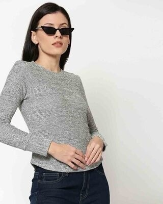 Shop Women's Light Winter Full Sleeves Top-Front