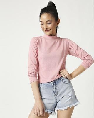 Shop Women's Melange Snug Top-Front