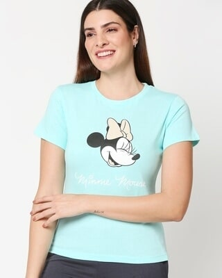 Shop Women's Mickey Printed Lounge T-shirt-Front