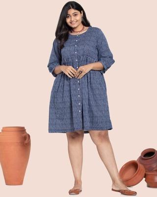 Shop Women's Printed Curvy Kurti Dress-Front