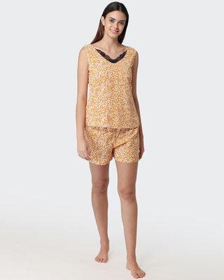 Shop Fluffalump Women's Printed Night Suit-Front