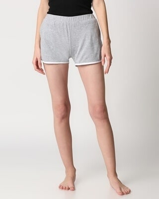 Shop Women's Solid Lounge Shorts-Front