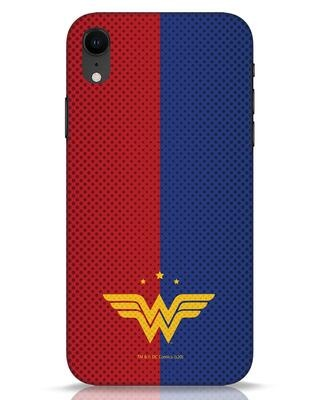 Shop Wonderwoman Retro Tone iPhone XR Mobile Cover-Front