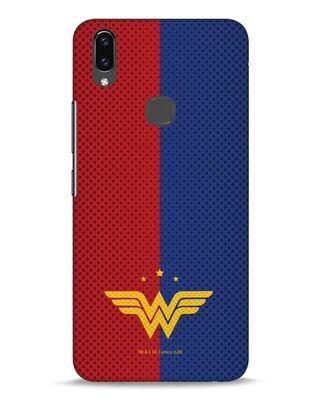 Shop Wonderwoman Retro Tone Vivo V9 Mobile Cover-Front