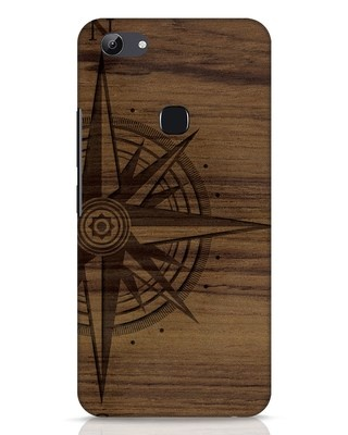 Shop Wood Compass Vivo Y83 Mobile Cover-Front