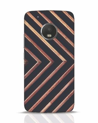 Shop Wood Stripe Moto G5 Plus Mobile Cover-Front