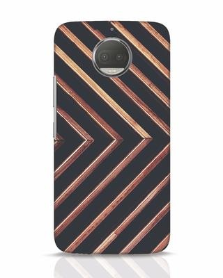 Shop Wood Stripe Moto G5s Plus Mobile Cover-Front