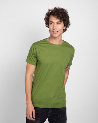 Shop Woodbine Green Half Sleeve T-Shirt-Front
