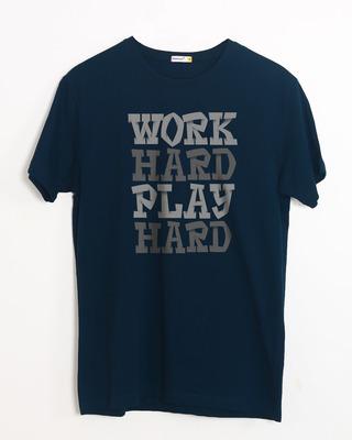 Buy Work And Play Half Sleeve T-Shirt Online India @ Bewakoof.com