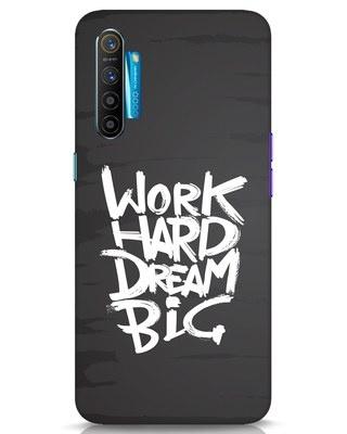 Shop Work Hard Dream Big Realme XT Mobile Cover-Front