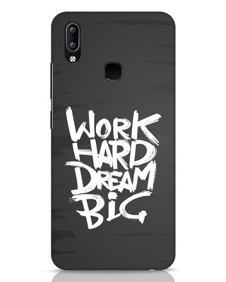 Shop Work Hard Dream Big Vivo Y91 Mobile Cover-Front