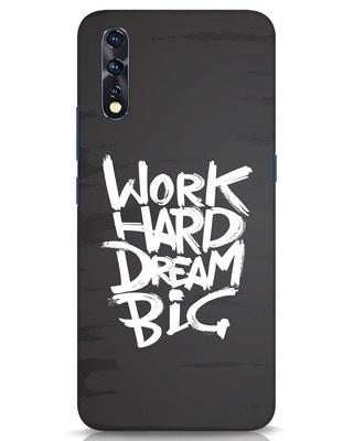 Shop Work Hard Dream Big Vivo Z1x Mobile Cover-Front