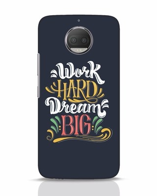 Shop Work Hard Moto G5s Plus Mobile Cover-Front